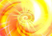 Soleil Cosmique d'Amour et de Lumière